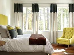 Mustard Colored Curtains Inspiration Yellow And Gray Bedroom Curtains Yellow And Black Bedroom Features