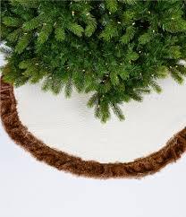 Blue Velvet Tree Skirt Southern Living Home Christmas Shop Dillards Com