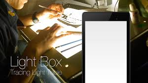 Light Up Drafting Table by Light Box Tracing Light Table Android Apps On Google Play