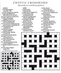 national post cryptic crossword forum