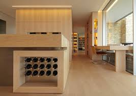 vin cuisine rangement bouteille de vin dans une cuisine