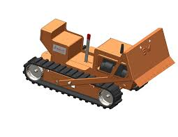 solidworks part reviewer bulldozer assembly