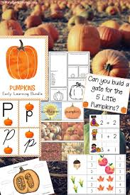 Printable Pumpkin Books For Preschoolers by Best Kindergarten And Preschool Pumpkin Theme Lesson Plan