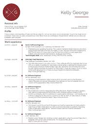 software engineer resume senior software engineer resume sle resume sles career