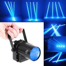 stage lighting mounting bars amazon com tsss blue led beam spotlight with mount pinspot dj