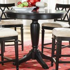 american drew camden dark round counter height pub table 42