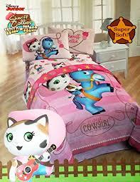 sheriff callie bedding amazon com disney sheriff callie 4 piece bedding set comforter