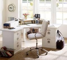 bedford corner desk antique white pottery barn