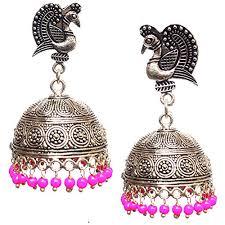 big jhumka gold earrings beeline attractive gold big jhumki jhumka for women at glowroad