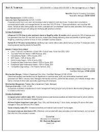 Nice Resumes Example Of Resume For Sales Position Free Resume Example And