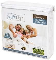 saferest premium hypoallergenic waterproof mattress protector