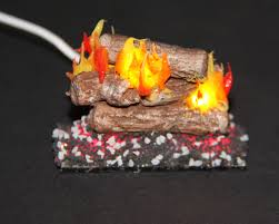 miniature fireplaces log sets and candles a u0026r miniatures