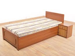 Buy Rubber Wood Furniture Bangalore Ackins Solid Storage Single Bed With Side Table Buy And Sell Used