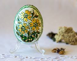 decorative eggs decorative egg etsy