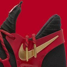 crimson nike kd 10 le gs black metallic gold university red bright crimson