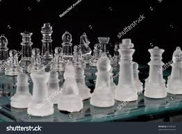 chess game focus on clear glass stock photo 61360303 shutterstock