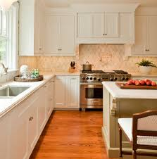 sparkling victorian backsplash kitchen contemporary with green