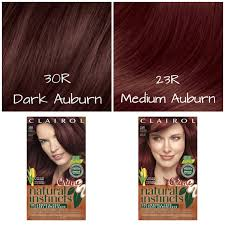 feeling red try a natural instincts creme shade clairol