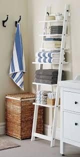 Best 25 Ladder Shelves Ideas by Bathroom Towel Shelves Ikea Home Design