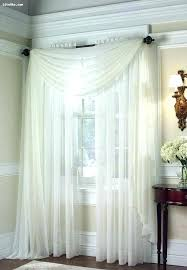 Curtains Corner Windows Ideas Corner Window Curtain Ideas Curtains For Corner Windows Window