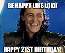 Happy 21 Birthday Meme - 21st birthday memes wishesgreeting