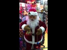 Mrs Claus Animated Christmas Decorations by Santa Claus Animated Figure At 168 Mall Youtube