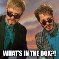 Dick In A Box Meme - what s in the box imgflip