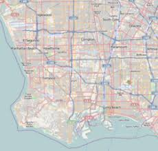los angeles map pdf manchester square los angeles