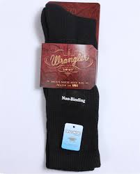wrangler men u0027s non binding boot socks fort brands