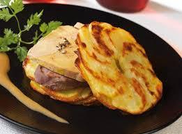 cuisiner le foie de boeuf recettes millefeuille de filet de boeuf au foie gras sauce st