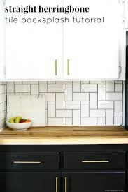 herringbone kitchen backsplash kitchen kitchen backsplash on a budget awesome