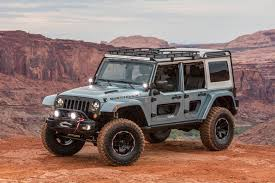 jeep moab 2017 2018 jeep wrangler readies for los angeles auto show debut roadshow