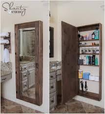 bathroom mirrors with storage ideas best 25 storage mirror ideas on diy bathroom mirror
