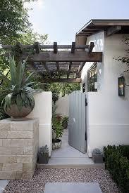 Front Yard Desert Landscape Mediterranean Exterior Best 25 Spanish Garden Ideas On Pinterest Spanish Patio Small
