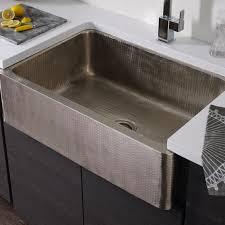 Thompson Traders Kitchen Farmhouse Sinks Legacy Lucca KSA - Hammered kitchen sink