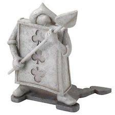 disney chesire cat in garden statue figurine