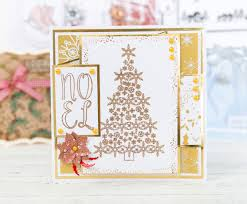gorgeous christmas card made using the dreamees sparkly christmas