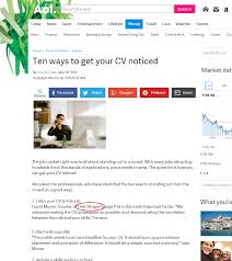 How To Embellish A Resume Our Cv Writing Approach U0026 Credentials