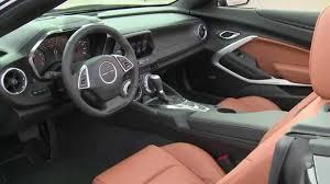 chevrolet camaro details 2016 chevrolet camaro convertible interior