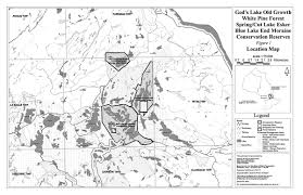 La Salle Campus Map God U0027s Lake Old Growth White Pine Forest Spring Cut Lake Esker
