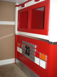 Fire Engine Bed Diy Fire Truck Bunk Bed