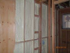 creating a false wall cover concrete with plastic film add