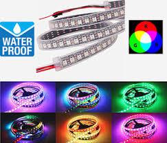 led strip lights linkable 1m ws2812b 5v rgb 5050 led strip light 96 x leds addressable