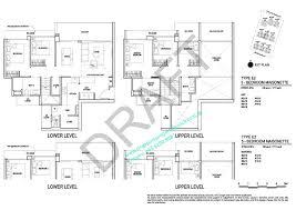 Maisonette Floor Plan Inz Residence Ec Choa Chu Kang Ave 5 Brickland By Qingjian Realty