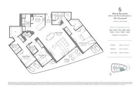St Regis Residences Floor Plan Four Seasons Hotel U0026 Private Residences Fort Lauderdale New