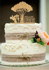 rustic wedding cake topper custom wedding cake topper mr and mrs with a motorcycle rustic
