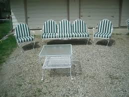 Retro Patio Furniture Sets Meadowcraft Vintage Patio Yard Furniture Set Yard Furniture