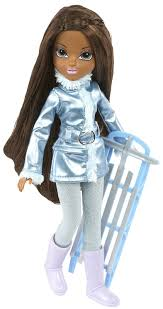 Moxie Girlz Magic Glitter Snow Doll Bria Free Shipping Dolls