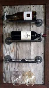 stunning reclaimed wood wine rack with remarkable detail and an