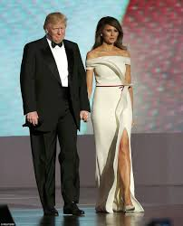 melania and ivanka trump dazzle in inaugural ball gowns daily
